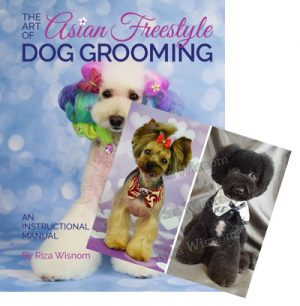 Combo - Art of Asian Freestyle Dog Grooming and Instructional DVD